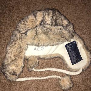 NWOT American Eagle Trapper hat
